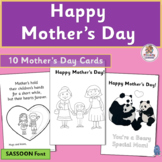 Mother's Day Cards and Happy Mothering Sunday | SASSOON Font