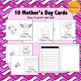 10 Mothers Day Cards