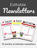 Editalbe Newsletters