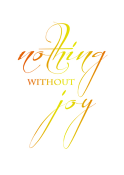 "Typography Posters: 10 ""Nothing Without Joy"" Reggio Emilia inspired posters."