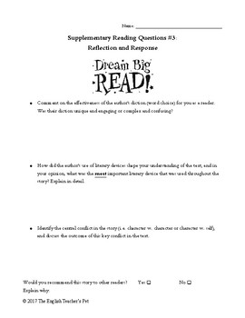 image about Printable Short Stories called 10 Novel and Quick Tale Answer Printable Worksheets