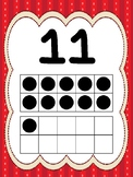 10  Numbers 11-20 Ten Frame Posters/Anchor Charts for your Classroom. Pre-K-2nd