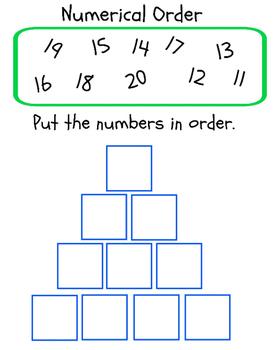 10 Numerical Order Printables