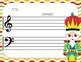NEW! 10 Nutcracker Blank Sheet Music / Winter Activities - Christmas, Bulletin