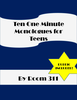 10 One minute Monologues