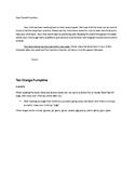 10 Orange Pumpkins Speech/Fluency Acitivities