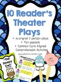 Reader's Theater for Literacy Centers: 10 Original plays/ 2 Roles