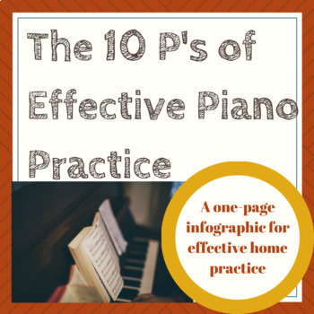 10 P's for Effective Piano Practice at Home