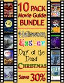 10 Pack Movie Guide Bundle ★ Day of the Dead  ★ Christmas ★ Easter ★ Halloween
