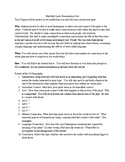 10 Paragraph Big Picture Quote Analysis Paper for Macbeth