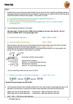 10: Percentage Decreases – Worksheet 2
