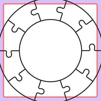 Puzzle Template 10 Pieces from ecdn.teacherspayteachers.com