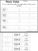 10 Place Value Worksheets.  Base 10, Tens and Ones, Expanded Form. KDG-1st Grade