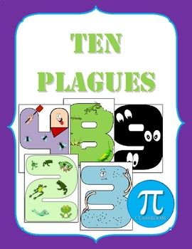 10 Plagues Number Posters