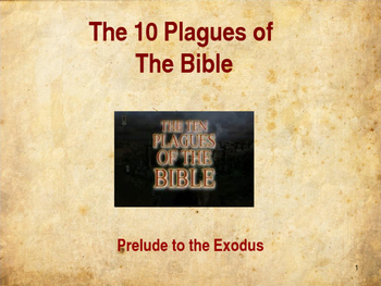 10 Plagues of the Bible