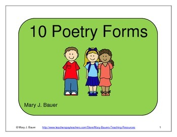 10 Poetry Forms