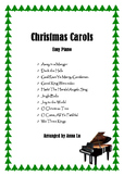 10 Popular Christmas Carols - Easy Piano