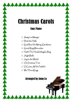 10 Popular Christmas Carols - Easy Piano