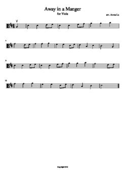 10 Popular Christmas Carols - Viola