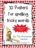10 Posters Commonly Misspelled Words Middle School Grammar Rules *common core*