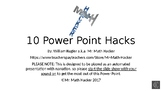 10 Power Point Hacks