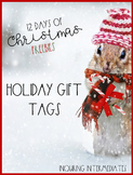 10 Printable Holiday Gift Tags - 12 Days of Christmas Free