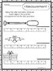 10 Printable Measuring With A Ruler Worksheets. Kindergarten-1st Grade Math.
