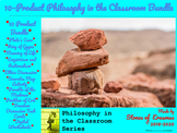 """10-Product """"Philosophy in the Classroom"""" Lesson Bundle (Mi"""