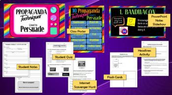 10 Propaganda Techniques Mini-Unit, Secondary Education
