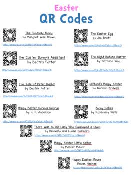 QR Codes: 10 Easter Read Alongs
