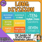 10 Questions Division Strategies & Algorithms - Multiple F
