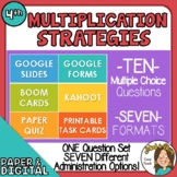 10 Questions over Multiplication Strategies - Multiple For