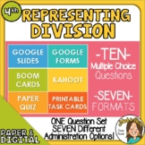 10 Questions over Representing Division -Multiple Formats