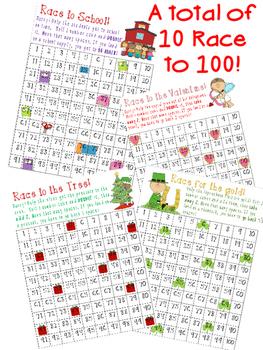 10 Race to 100 Seasonal Games