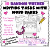10 Random Fun Themed Writing Tasks With Word Banks