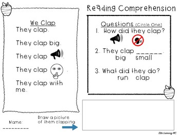 10 Reading Comprehension Passage with Questions (No PREP)