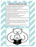 10 Reasons to Read To Your Child