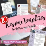 10 Resume Templates Megapack for Students and Teachers (ed