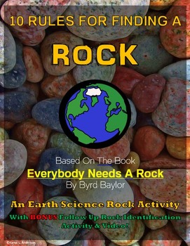 10 Rules For Finding A Rock - An Earth Science Activity