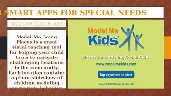 10 SMART APPS FOR SPECIAL NEEDS