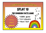 NUMBER FACTS GAMES - SPLAT 10 and SPLAT 100 - Rainbow Facts - Bonds of 10