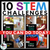 STEM Activities - 10 STEM Challenges BUNDLE