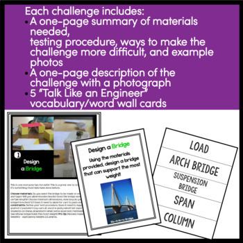 STEM Activities - 10 STEM Challenges BUNDLE