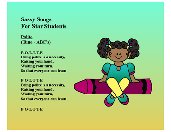 10 - Sassy Songs for Kids of Character