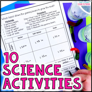 10 Science Activities: Back to School Science Experiments