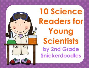 10 Science Readers for Young Scientists