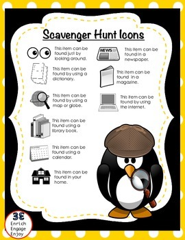 10 Search & Learn Holiday Scavenger Hunts for Grades 2-5