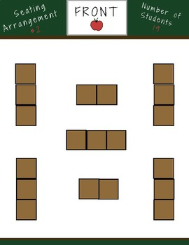 10 Seating Arrangement Ideas for 19 Students