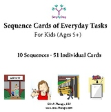 10 Sequences of Everyday Tasks for Kids - (Set 2 of 2)