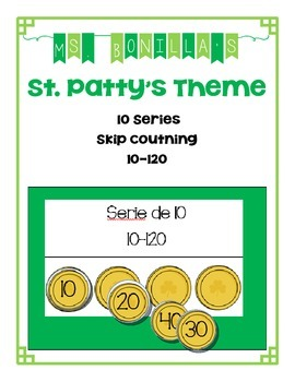 10 Series (10-120) Skip Counting  - St. Patty's Theme